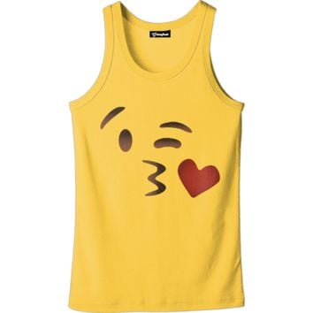 Emoji Kissing Tank