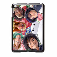 Big Hero 6 Selfie Floral All Characters iPad Mini Case