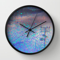 road to the dream Wall Clock by Marianna Tankelevich