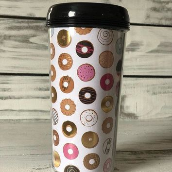 Donuts & Coffee Travel Mug