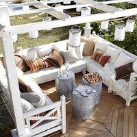 Weatherby Pergola | Pottery Barn