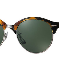 Ray-Ban RB4246 1157 51-19 CLUBROUND Tortoise sunglasses | Official Online Store US