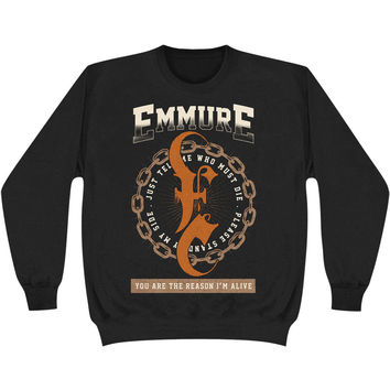 Emmure Men's  Deadpool Sweatshirt Black