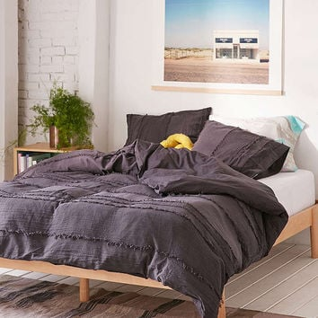 Willow Fringe Duvet Cover | Urban Outfitters