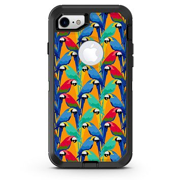 Tropical Twist Parrots v2 - iPhone 7 or 8 OtterBox Case & Skin Kits