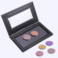 14.5cmx8.2cm Empty Magnetic Eyeshadow Concealer Aluminum Pans With Palette Makeup Tools Cosmetics DIY Box