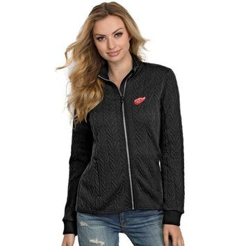 ICIKG8Q NHL Detroit Red Wings Women's Full-Zip Track Jacket