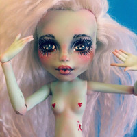 OOAK Monster High Doll Repaint/Remake