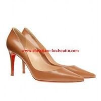 Christian Louboutin ?New Decoltissimo? Leather Court Shoes