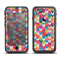 The Color Knitted Apple iPhone 6 LifeProof Fre Case Skin Set