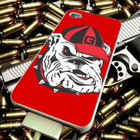 Georgia Dogs Football for iPhone 4/4s/5/5s/5c/6/6 Plus Case, Samsung Galaxy S3/S4/S5/Note 3/4 Case, iPod 4/5 Case, HtC One M7 M8 and Nexus Case ***