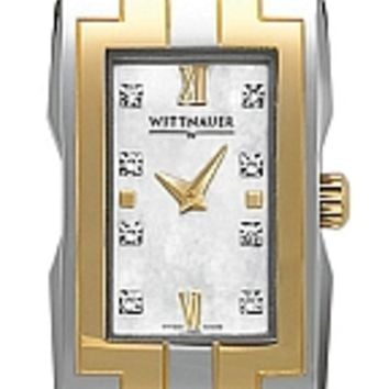 Wittnauer Beckett Collection Women's Two Tone Bracelet Watch 12P005