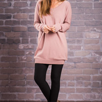 Ready For Love Top, Mauve