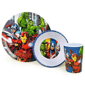 Avengers 3-Piece Meal Time Set