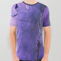 Sahasrara (crown chakra) All Over Graphic Tee by duckyb