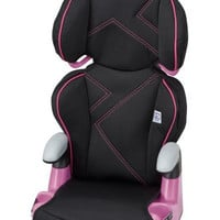 Evenflo AMP High Back Car Seat Booster, Pink Angles