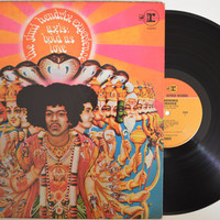 "The JIMI HENDRIX EXPERIENCE - ""Axis: Bold As Love"" vinyl record"