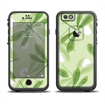 The Green DragonFly Apple iPhone 6 LifeProof Fre Case Skin Set