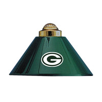 Green Bay Packers NFL 3 Shade Billiards Metal Lamp