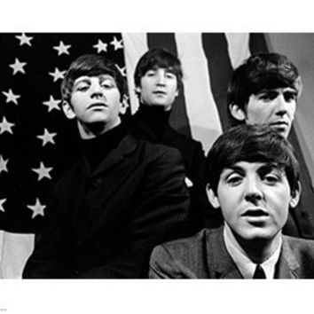 The Beatles American Flag