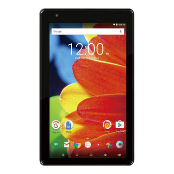 RCA Voyager 7-Inch Tablet 16GB 1.2GHz Quad-Core Android 6.0 - Charcoal