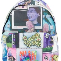 Jeremy Scott Collage Print Backpack -  - Farfetch.com