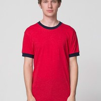 bb410dl - Poly-Cotton Short Sleeve Ringer T -Shirt