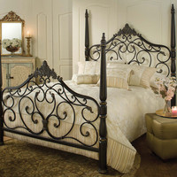 1450-parkwood-bed-set-queen-w-rails - Free Shipping!