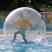 2M Walk on Water Walking Ball / Roll Ball / Inflatable Zorb ball German zipper
