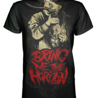 Bring Me The Horizon Art All Over Print T-shirt