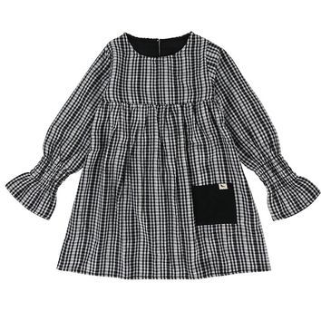 Reversible Checkered Dress by Turtledove London