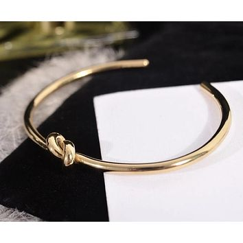 New Arrival Chic Fashion Knot Lovers Bangle