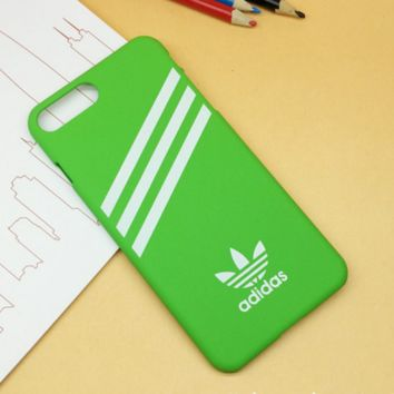 Green Adidas Print Case For Iphone 7 7plus & 6 6s Plus + Gift Box