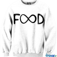 Infinite Food Crewneck