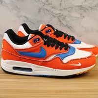 """[ Free  Shipping ]Nike Air Max 1 """"Curry""""   Running Sneaker"""