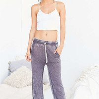 Out From Under Late Pass Grey Joggers - Urban Outfitters