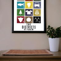 The Hunger Games / The Districts / Poster