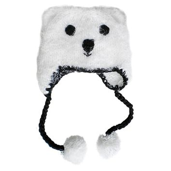 Baby and Toddler Boys or Girls Polar Bear Beanie Hat