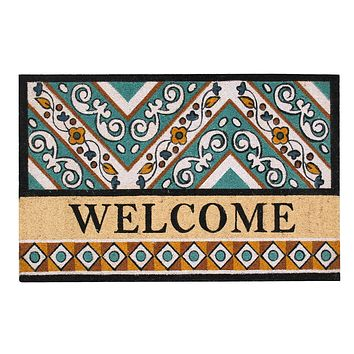 A1HC First Impression Waydon Coir 30-inch x 48-inch Engineered Anti-shred Welcome Fade-resistant Doormat