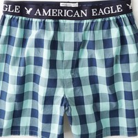 AEO Men's Plaid Boxer