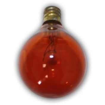 Aspen String Lights Edison Amber color Replacement Bulb  1pcs  intermed size bulb.  7 Wattage