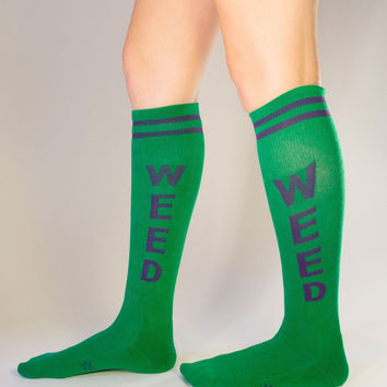 GUMBALL POODLE WEED ATHLETIC SOCKS