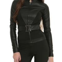 Marvel By Her Universe Black Widow Girls Belted Jacket Pre-Order