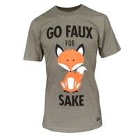 Go Faux for Fox Sake Unisex T-Shirt