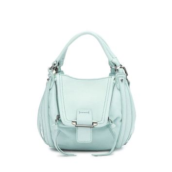 Kooba Women's Mini Jonnie 14 - Ocean Leather Crossbody Bag