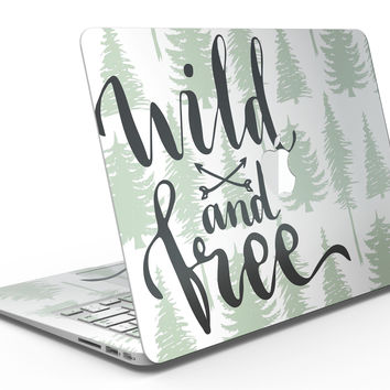 Wild and Free - MacBook Air Skin Kit