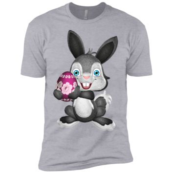 fluffy easter bunny matching family T-Shirt