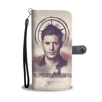 KUYOU Wrestle Your Deanmon Supernatural Wallet Phone Case