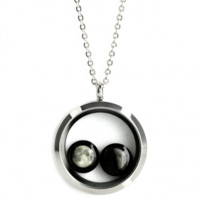 Lovers in a Locket Necklace
