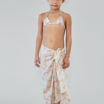 ACACIA Honey Swimwear 2018 Kuau Pareo in Naked Magnolia (Kids)